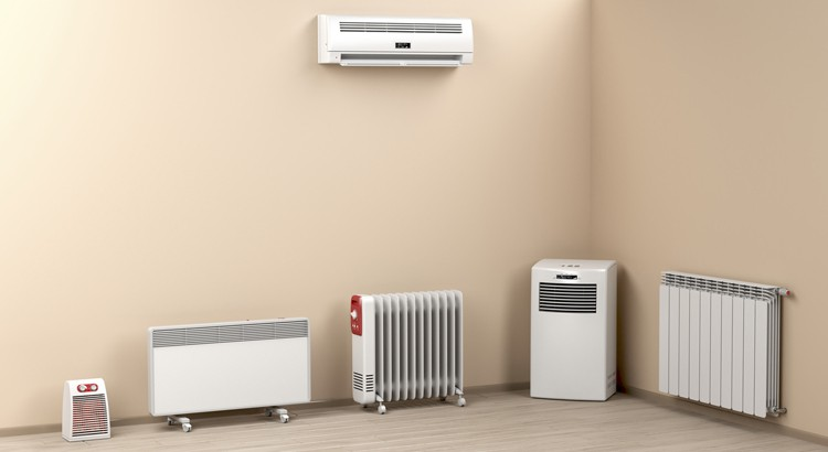 Combinaison d'une pompe à chaleur et un climatiseur
